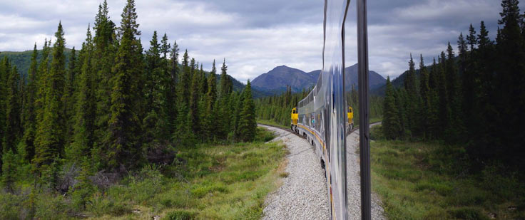 Train from Denali